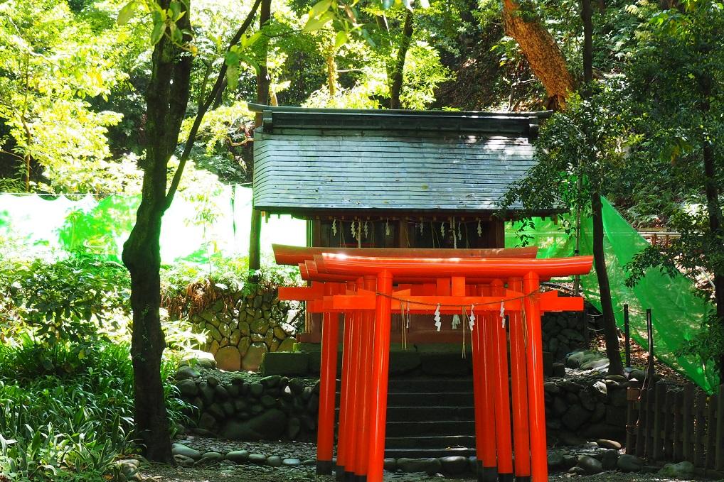 久能稲荷神社と厳島神社