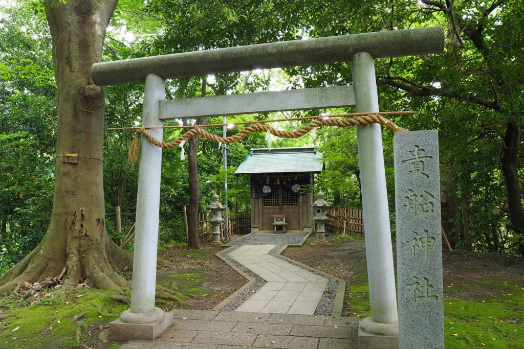柿田川の貴船神社
