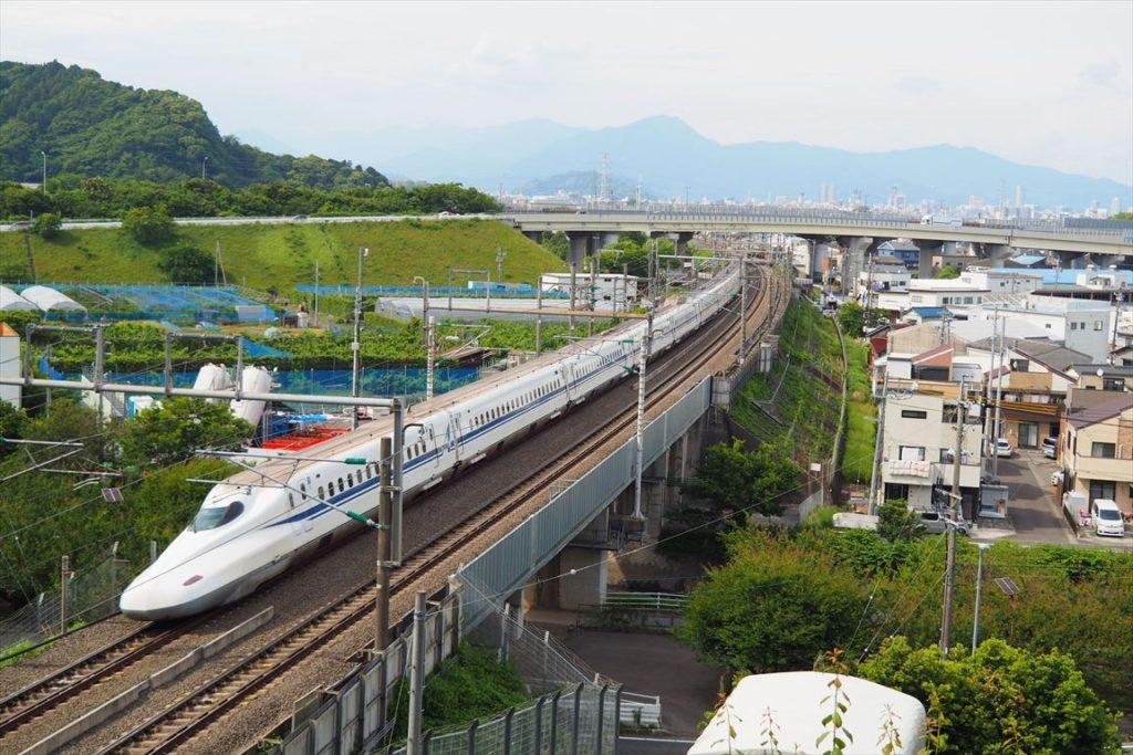 持舟城址新幹線