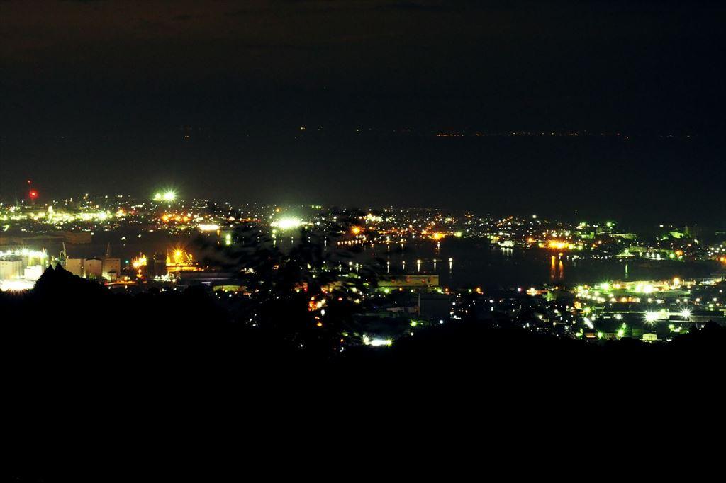 日本平東展望台からの夜景