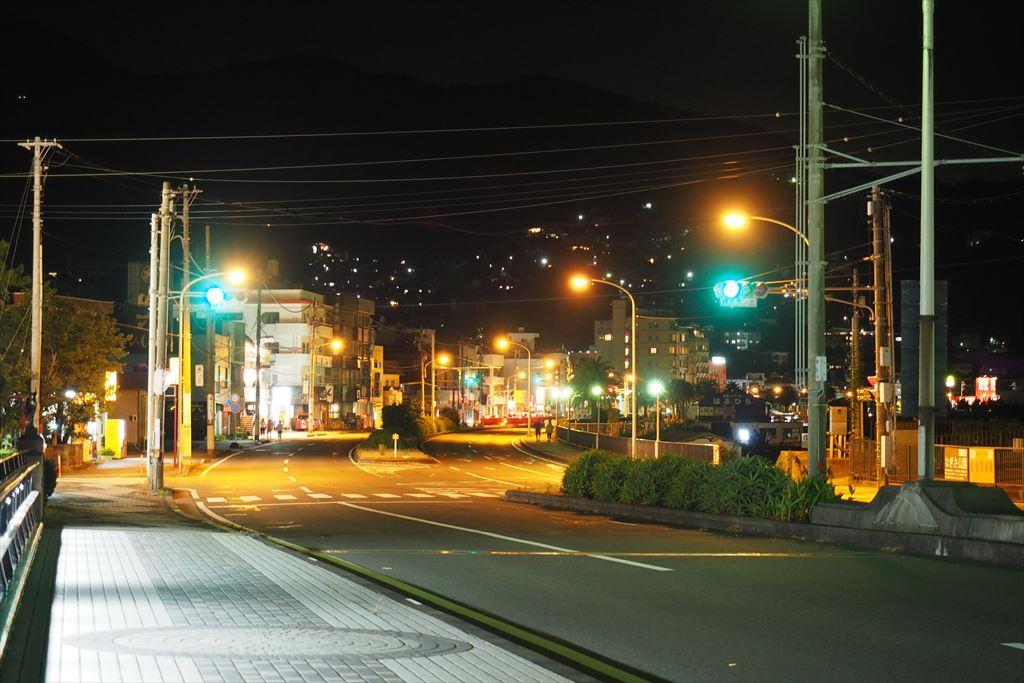 伊東バイパス夜