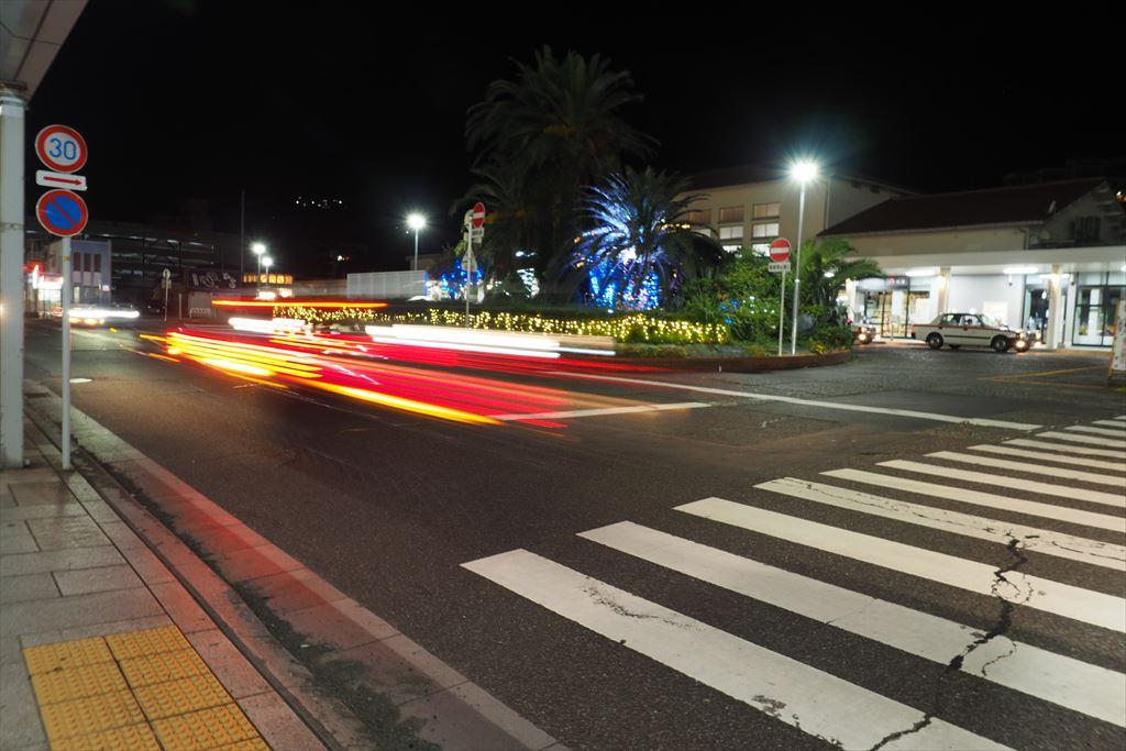 夜の伊東駅