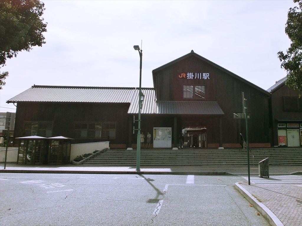 掛川駅木造駅舎